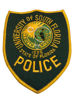 UNIV OF SOUTH FL POLICE PATCH