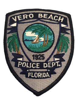 VERO BEACH FL POLICE PATCH