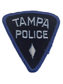 TAMPA FL POLICE PATCH