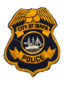 TAMPA FL POLICE BADGE PATCH