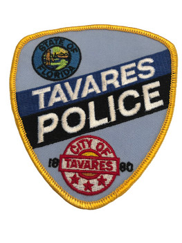 TAVARES FL POLICE PATCH