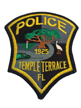 TEMPLE TERRACE FL POLICE PATCH