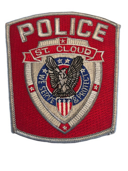 ST. CLOUD FL POLICE PATCH
