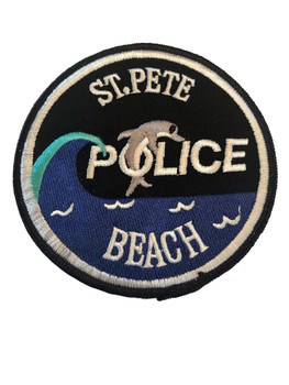ST PETE BEACH FL POLICE PATCH