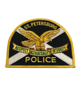ST. PETERSBURG FL POLICE PATCH