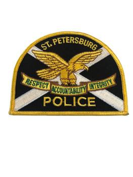 ST. PETERSBURG FL POLICE PATCH
