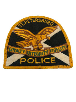 ST. PETERSBURG FL POLICE PATCH  2