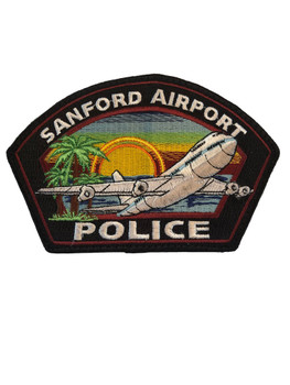 SANFORD FL AIRPORT POLICE PATCH