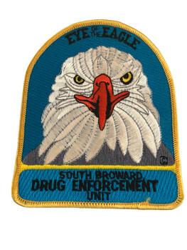 SOUTH BROWARD FL DRUG ENFORCEMENT POLICE PATCH