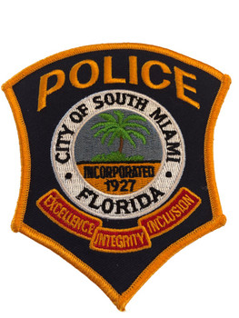 SOUTH MIAMI FL POLICE PATCH