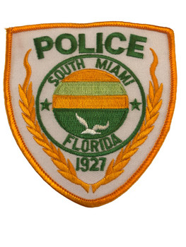 SOUTH MIAMI FL POLICE PATCH 2