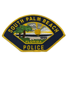 SOUTH PALM BEACH FL POLICE PATCH