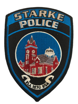 STARKE FL POLICE PATCH