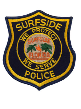SURFSIDE FL POLICE PATCH