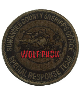SUWANNEE CTY SHERIFF SRT PATCH