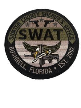 SUMTER SHERIFF FL SWAT PATCH