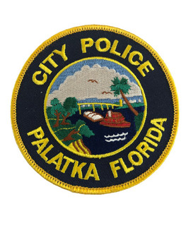 PALATKA FL POLICE PATCH