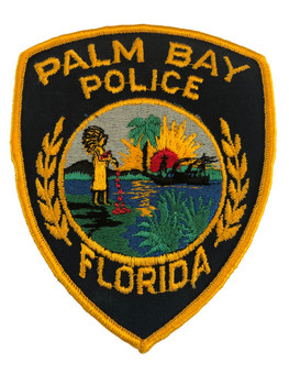 PALM BAY FL POLICE PATCH