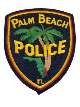 PALM BEACH FL POLICE PATCH