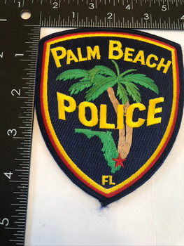 PALM BEACH FL POLICE PATCH