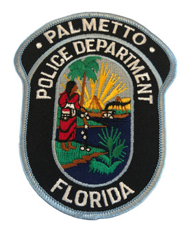 PALMETTO FL POLICE PATCH
