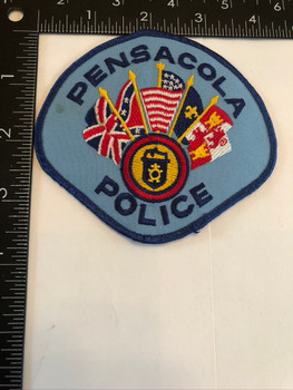 PENSACOLA FL POLICE PATCH