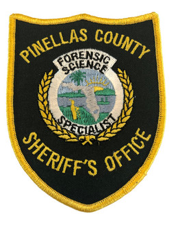 PINELLAS CTY SHERIFF FL PATCH POLICE