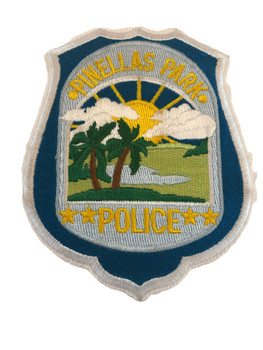 PINELLAS PARK FL POLICE PATCH
