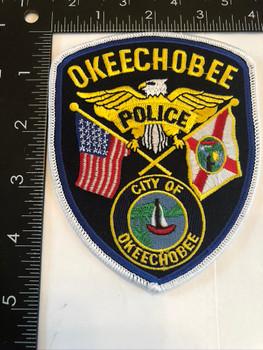 OKEECHOBEE FL POLICE PATCH