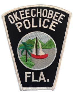 OKEECHOBEE FL POLICE PATCH 2