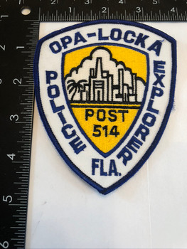 OPA LOCKA FL POLICE PATCH EXPLORER