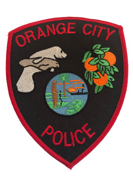 ORANGE CITY FL POLICE PATCH