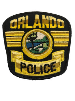 ORLANDO FL POLICE PATCH