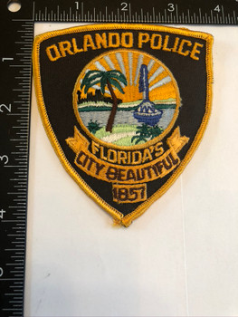 ORLANDO FL POLICE PATCH OLD SCHOOL
