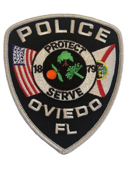OVIEDO FL POLICE PATCH