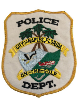 NAPLES FL POLICE PATCH