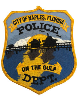 NAPLES FL POLICE PATCH 2