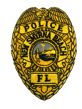 NEW SMYRNA BEACH FL POLICE BADGE PATCH