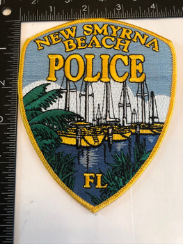 NEW SMYRNA BEACH FL POLICE PATCH