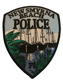 NEW SMYRNA BEACH FL POLICE PATCH 2