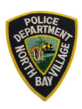 NORTH BAY VILLAGE FL POLICE PATCH
