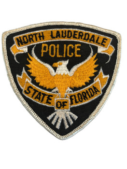 NORTH LAUDERDALE FL POLICE PATCH
