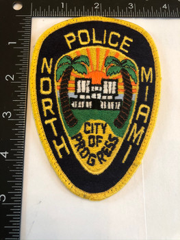 NORTH MIAMI FL POLICE PATCH