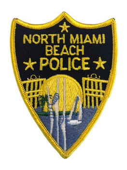 NORTH MIAMI BEACH FL POLICE PATCH