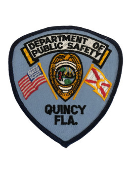 QUINCY FL PUBLIC SAFETY PATCH POLICE