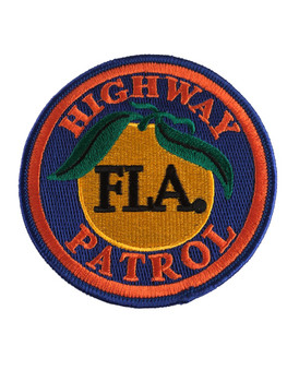 FLORIDA HIGHWAY PATROL FLA PATCH SM