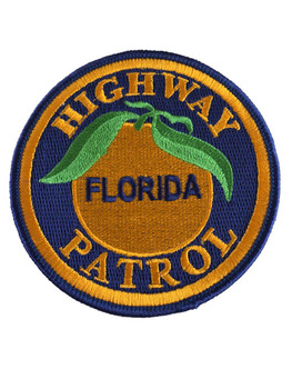 FLORIDA HIGHWAY PATROL PATCH LG