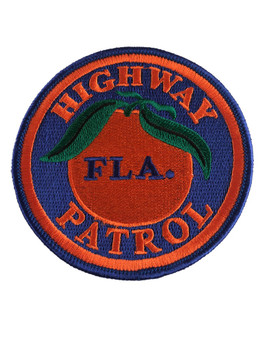 FLORIDA HIGHWAY PATROL FLA PATCH SM 2
