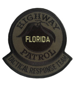 FLORIDA HIGHWAY PATROL TACTICAL  PATCH