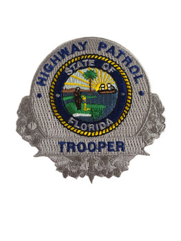 FLORIDA HIGHWAY PATROL TROOPER BADGE PATCH
